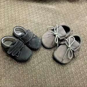 Other - Leather soft soled baby shoes